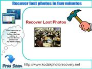 Kodak Photo Recovery Software- The best Photo recovery Tool