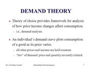 02 Demand Theory