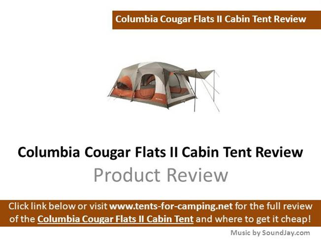 sc 1 st  authorSTREAM : cougar tents - afamca.org