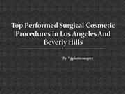 What To Ask When Choosing a Los Angeles Plastic Surgeon