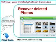 Best solution to recover lost photos from nikon camera.