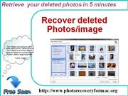 Easily retrieve all your missing photos on mac.