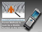 Proven Methods to Look Up a Mobile Number on the Internet