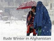 Rude Winter in Afghanistan