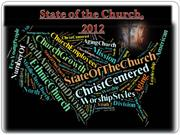 The State of the Seventh-day Adventist Church, 2012