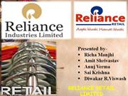 Reliance retail Ltd.