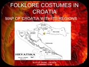 FOLKLORE COSTUMES IN CROATIA+M