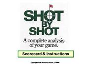 Shot By Shot Scorecard Instructions