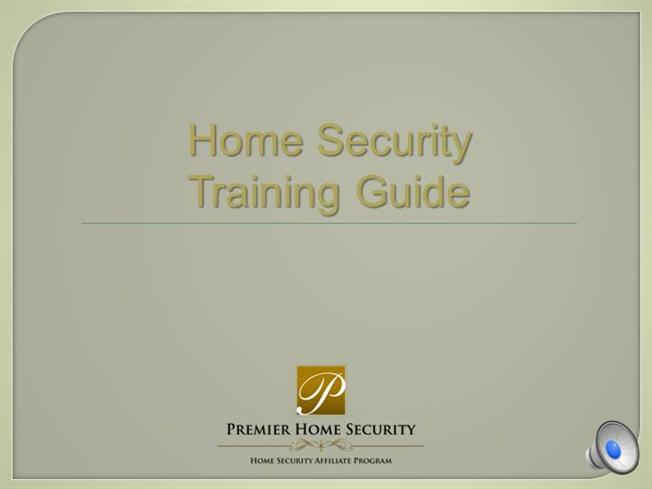 Complete Phs Home Security Alarm Training Guide Sales Authorstream