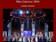 Miss Universe 2010 - costume