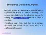 Emergency Dental Los Angeles