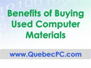 Benefits of Buying Used Computer Materials