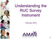 Short Version RUC Survey Presentation2012MerlinoRecordedwebinar