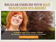 Regular exercise with Blue Mountains Spa Resort- ontrackretreats.com.a