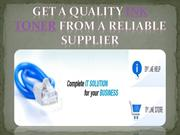 Get a quality Ink toner from a reliable supplier Cartridges- etoners.c