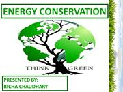 ENERGY CONSERVATION_PPT