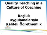 Peer Coaching Turkish