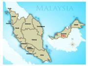 map malaysia
