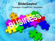 BUSINESS BUSINESS TEAMWORK AND STRATEGY PPT TEMPLATE