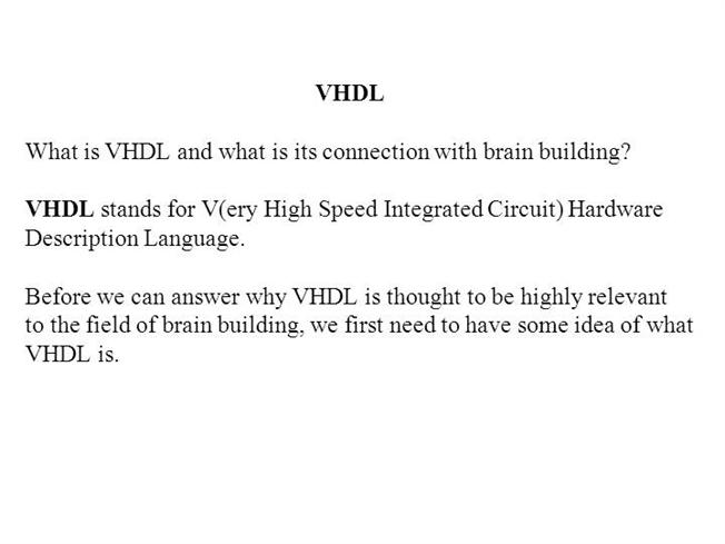 VHDL Tutorial (Complete) |authorSTREAM