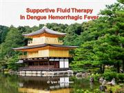 Supportive Fluid Therapy in Dengue Hemorrhagic Fever
