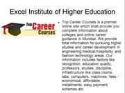 Careers Guide in Fashion Design Mumbai, Top Career Courses India