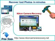 Recover lost or deleted Nikon photos.