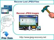 Recover damaged or corrupted JPEG files.