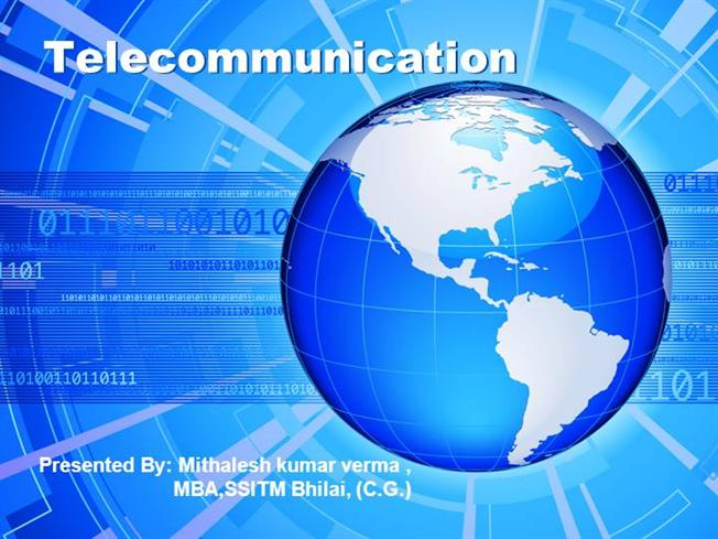 telecommunication |authorstream, Powerpoint templates