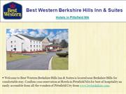 Best Western Berkshire Hills Inn  Hotel Pittsfield MA