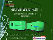 Pee Kay Silent Generators Private Limited Delhi India