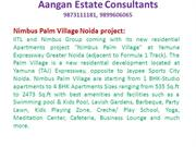 Nimbus Palm Village Rate 9899606065 Nimbus Palm Village Greater Noida