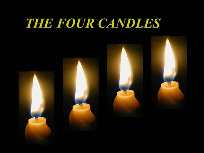 a8537d9563bb89 The Four Candles