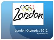 Lesson 3 - London Olympics 2012