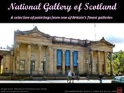 National Gallery Scotland, Edinburgh