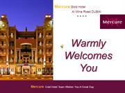 Mercure Gold Hotel Presentation Board