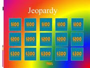 Ponderous Panda PSSA Jeopardy Game