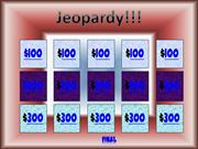 PSSA Jeopardy Game