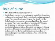 Role of nurse