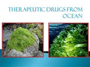 Therapeutic drugs from ocean