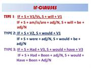 if-clauses ppt