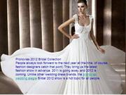 Pronovias 2012 Bridal Collection at www