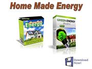 Home Made Energy - The Best Diy Offer!