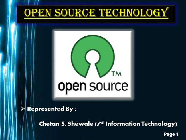 Open source project management tools software for ppt download.