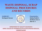 waste disposal-