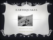 Earthquakes - Lacey Abbott
