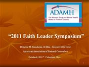 Doug Ronsheim PowerPoint Faith Symposium