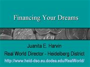Financing-your-dream