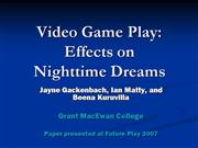 futureplay 2007 dreams and gamers from i