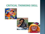 critical thinking ppt